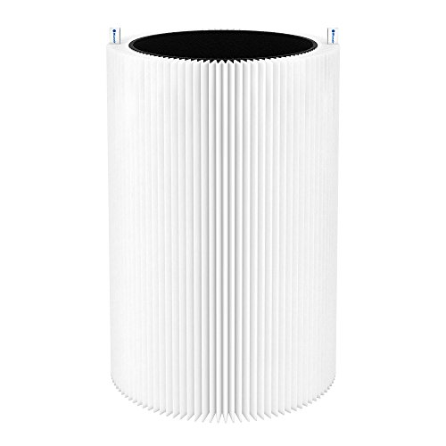 Blueair Blue Pure 411 Genuine Replacement Filter, Particle and Activated Carbon, Fits Blue Pure 411, 411+ & MINI Air Purifiers