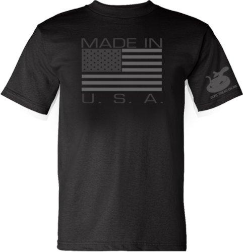 Gadsden and Culpeper Made in USA T-Shirt - Black -...