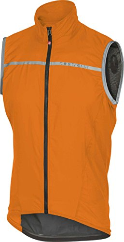 Castelli Superleggera Herren Unterhemd, Orange, S