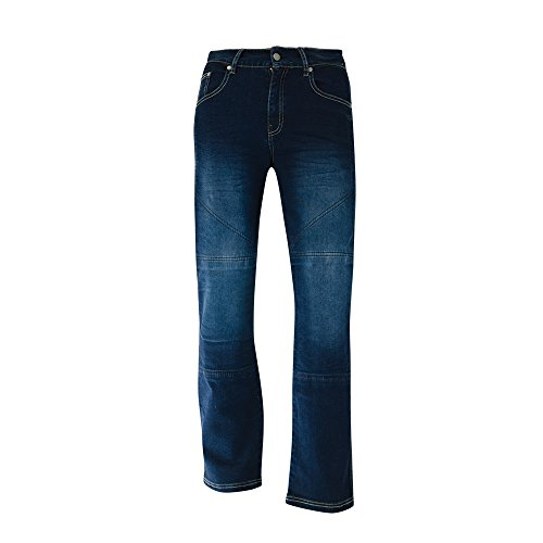 bull-it Herren SR4 Flex Motorrad covec Jeans – Blau Regular
