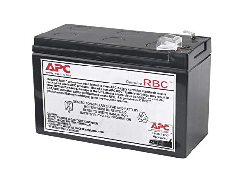 apc back ups es 750 replacement battery