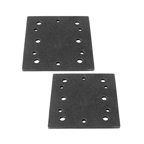 Ryobi S652DK 1/4 Sheet Double Insulated Sander (2 Pack) Replacement Pad Assembly # 039066005051-2pk