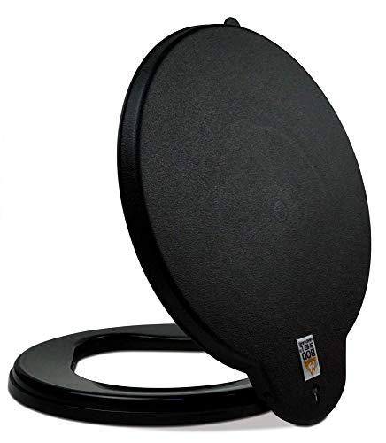 BodShell Portable Toilet Seat Lid for Emergencies and Camping - fits 5 Gallon Bucket (Lid Only)