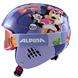 ALPINA CARAT SET DISNEY Skihelm, Kinder, Disney Minnie Mouse, 48-52