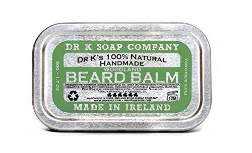 DR K Soap Company, Balsamo per barba, Beard Balm Woodland Spice, 50 g