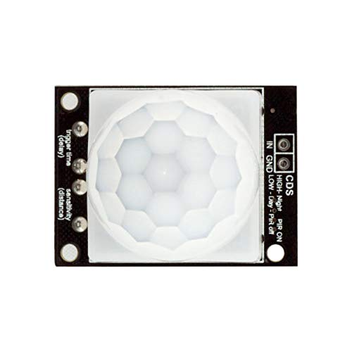 Capacitors 5V PIR Motion Sensor Adjustable Time Delay Sensitive Module for A-r-d-u-i-n-o - products that work with official A-r-d-u-i-n-o boards 3Pcs