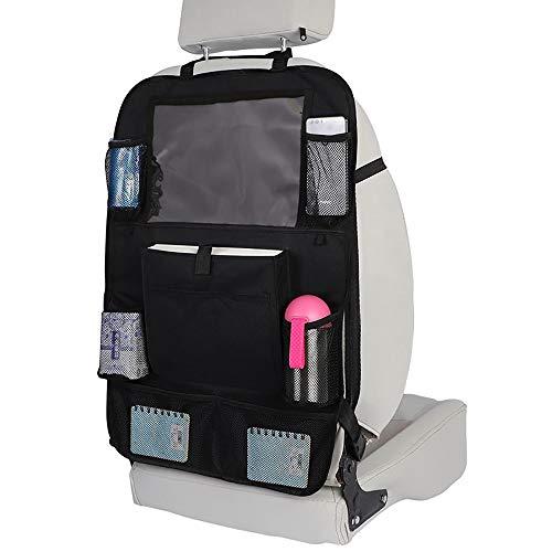 ZhiDuoXing Universal Car Auto Phone Pocket Organizer Multi-Bolsillo Colgando Bolsa de Almacenamiento Coche Organizador Protector Coche Back Asiento Trasero Bolsa para niños