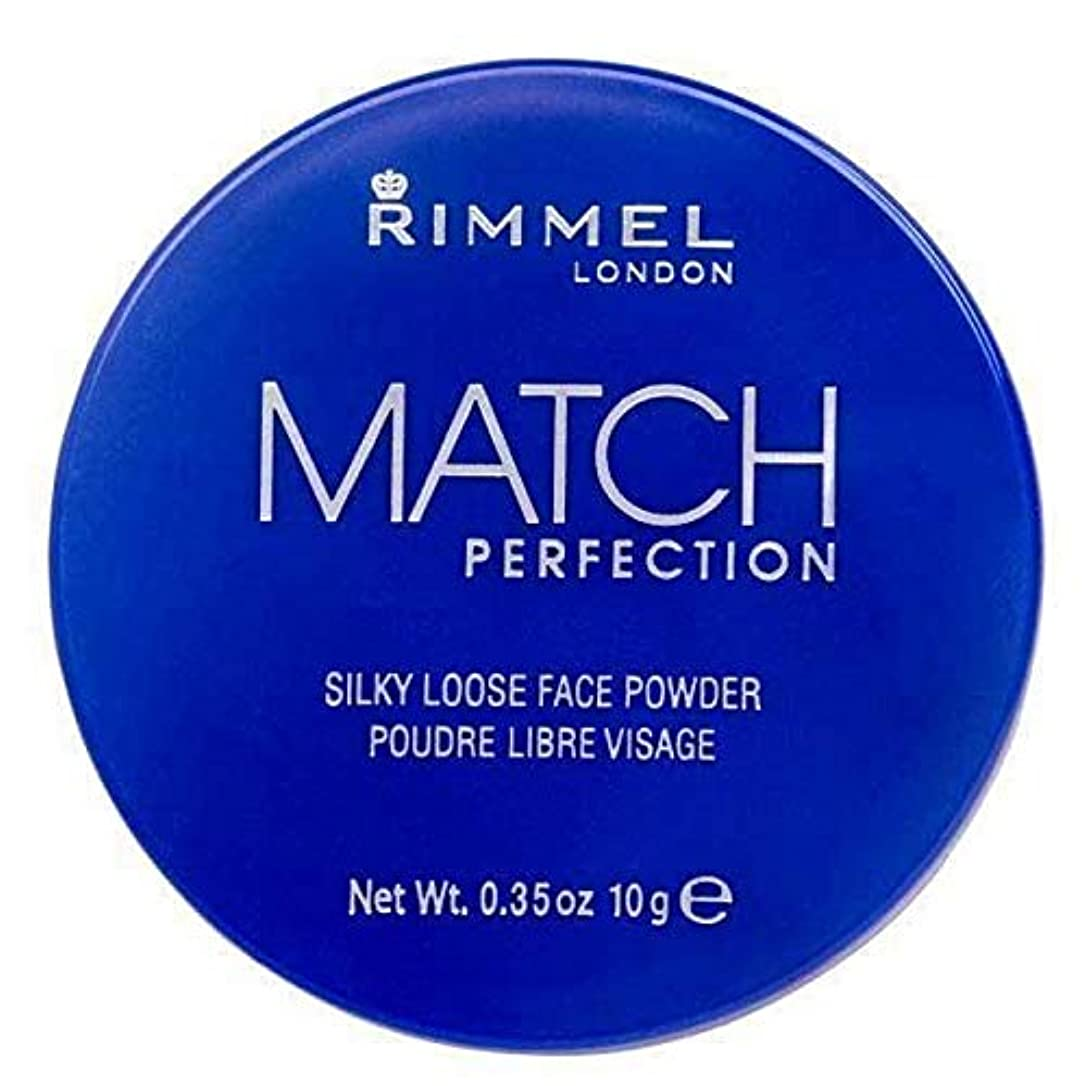 前兆水っぽい誰の[Rimmel ] リンメルマッチ完璧ルースパウダー半透明1 - Rimmel Match Perfection Loose Powder Translucent 1 [並行輸入品]