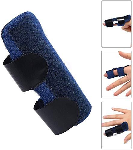 Hossom Finger Splint, Fingerschutz, Fingerschiene fur Zeigefinger, Mittelfinger, Ringfinger, Kleiner Finger Trigger Finger Schutz Support Schmerzlinderung