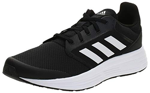 adidas Galaxy 5, Running Shoe Hombre, Core Black/Footwear White/Footwear White, 42 EU