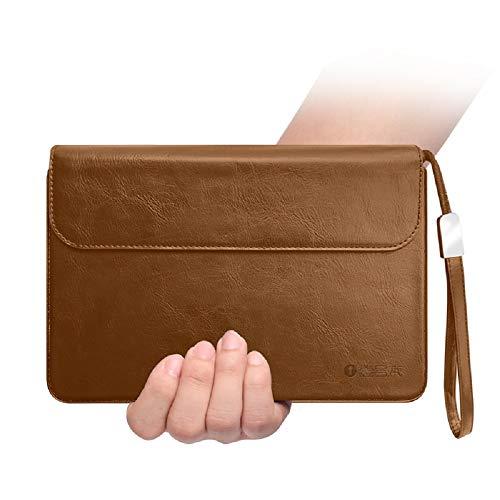 One Netbook OneMix 3 / 3S-Serie und OneMix3 Pro-Serie Kompatible 8,4-Zoll Tablet PC Tasche LaptopHülle Schutzhülle Dedizierte Aufbewahrungshülle Original PU Ledertasche (Braun)