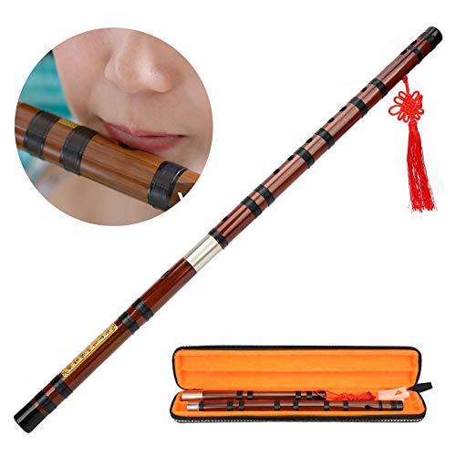 Bambusflöte, professionelle chinesische Flöte traditionell für die Aufführung für die Notenprüfung
