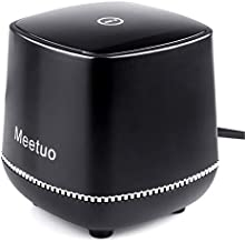Wired Speaker, Meetuo Computer Speakers for Desktop, USB Powered Small Speakers with 3.5mm Jack Stereo Sound for Laptop, PC, Desktop, Office(Black)