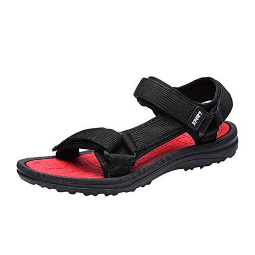 Männer hakenschleife Sport Sandalen Hausschuhe öffnen zehen Flache See Zunge Anti Slid Strand Schuhe Sommer im freien entspannende Wasserschuhe für sonnenbad familienbad Pool