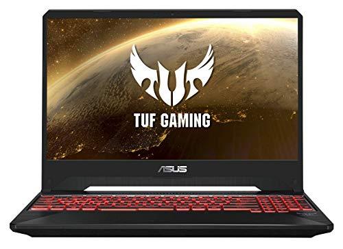 Asus TUF505DV AL093T PC Portable Gamer 15.6' Gris Métal (AMD Ryzen 5, 16 Go de RAM, SSD 512Go, Nvidia RTX 2060-6Go) Clavier AZERTY Français