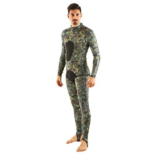 Seac Pirana Unisex-Taucheranzug XL Camouflage