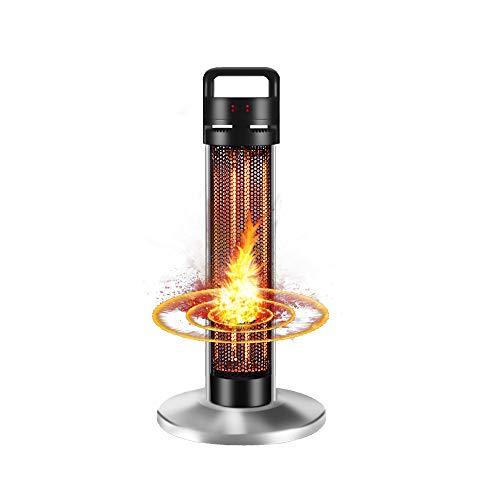 Infrarot Stand Heizstrahler Patio Heater | 950/1500 Watt | Infarot Terrassenheizer Infarotheizung für Innen- & Außenbereich | Standheizstrahler | Standgerät