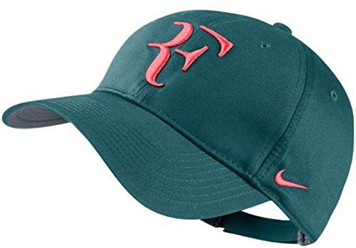 Nike Men-Women 's Roger Federer RF Tennis Dri-Fit Hat Night Factor/Koralle