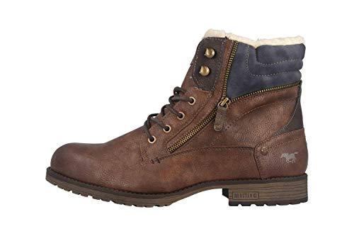 MUSTANG Herren 4119-604-360 Klassische Stiefel, Braun (Mittelbraun 360), 43 EU