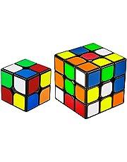 Magic Cube 魔方 (日本語6面完成攻略書) 競技専用キューブ 回転スムーズ 立体パズル 世界基準配色 ストレス解消 脳トレ