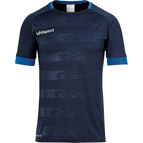 uhlsport Herren Division 2.0 Trikot Kurzarm Fussball Trainingsbekleidung, Dark Olive, 128
