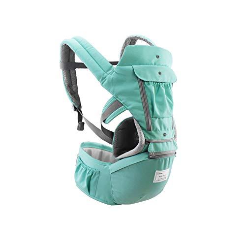360 Porte-bébé ergonomique Carrier Sac à dos pour bébé Hip Seat - G-Tree porte-bébé Wrap pour toutes les saisons (Gris)