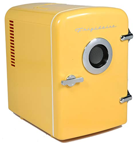 Frigidaire EFMIS151 Mini Portable Compact Personal Home Office Fridge Cooler BUILT IN...