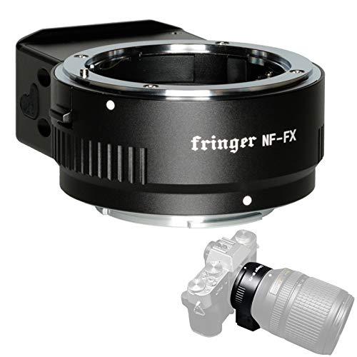 Fringer NF-FX Anillo adaptador de lente compatible con cámaras Nikon F a Fujifilm X Mount X-T30...
