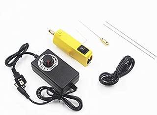 OCA Glue Remover Tool,Glue Electric Degummed Artifact Clean Device, Remove Glue Hand held Machine (Yellow)