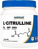 Nutricost Pure L-Citrulline (Base) Powder (600 Grams)