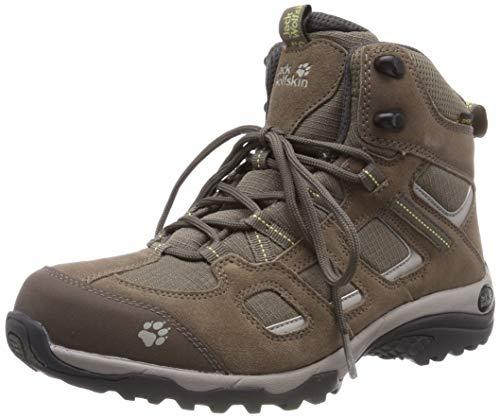 Jack Wolfskin Damen Vojo Hike 2 Texapore MID W Wasserdicht Trekking-& Wanderstiefel, Beige (Siltstone 5116), 42 EU
