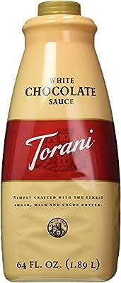 Torani White Chocolate Sauce 64oz