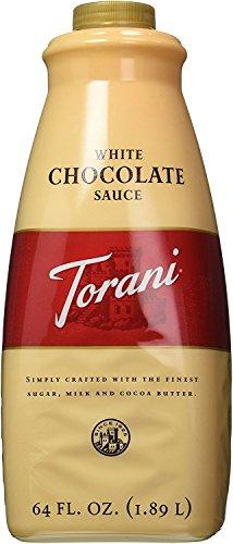 Torani White Chocolate Sauce, 64 Ounce
