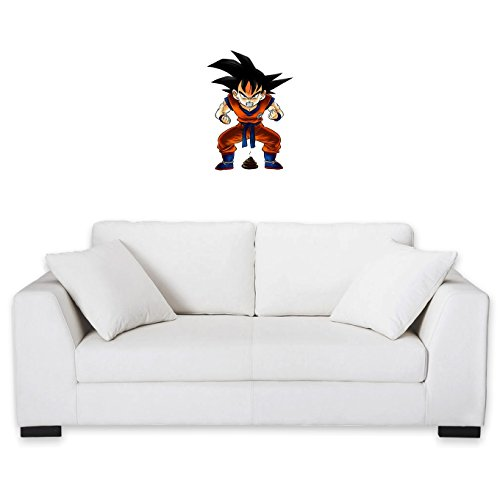 Okiwoki Sticker Mural Dragon Ball Z - DBZ parodique Sangoku : Super Caca - Vol.1 (Parodie Dragon Ball Z - DBZ)