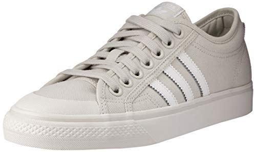 adidas Damen Nizza W Gymnastikschuhe, Grau (Grey One F17/Ftwr White/Crystal White Grey One F17/Ftwr White/Crystal White), 36.5 EU