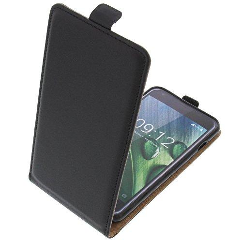 foto-kontor Tasche für Acer Liquid Z6 Smartphone Flipstyle Schutz Hülle schwarz