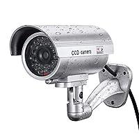 Ocamo フェイクダミーカメラ Bullet 防水 アウトドア インドア セキュリティ CCTVカメラ, YJJ1018-dianzi-2A9B5390E5