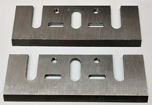 82mm HSS Hobelmesser für MAKITA 1911,1900B,1901,1902,1923 B,1001,1100,1125,1125,Hitachi F20, FP20A, P20V, Ryobi HL-82, L 282, L 1323 A, L 180, L -1835, Wolf/Kango: 8614, 8657