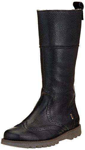 Bisgaard Mädchen 60301218 Hohe Stiefel, Schwarz (204 Black), 27 EU