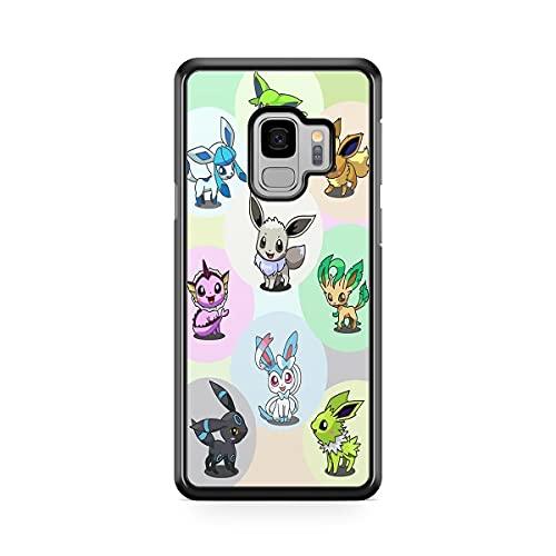 Coque pour Samsung Galaxy J6 2018 Pokemon go Team Pokedex Pikachu Manga Tortank Game Boy Color Salameche Noctali Valor Mystic Instinct Case 29