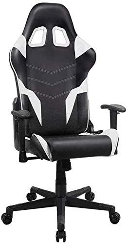 Silla de Oficina Sillas de Videojuegos Mesh Ergonomic High Back Racing Style Silla de computadora para Adultos con Soporte Lumbar Sillón