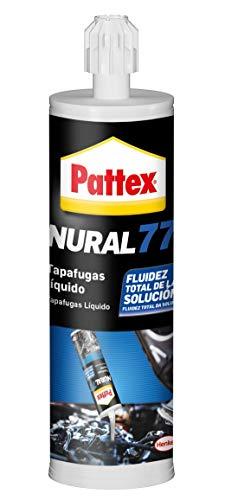 Pattex 2287572 Nural 77, Tapafugas líquido para sellar y taponar poros y Grietas en el Sistema de refrigeración del automóvil, 1x250ml, Transparente