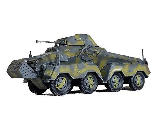 """kaige Militär 1/72 Kunststoff Tank-Modell, WWII Deutschland """"Acht-Rad-Panzerfahrzeug Sd.Kfz.231 23.""""Tank fertiges Modell, Collectibles WKY"""