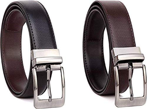 Fashion Sutra Boy's Leather Casual and Formal Belts (Brown)