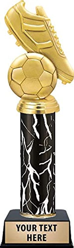 Crown Awards Soccer Tournament Trophies, Soccer Ball Trophy Great Soccer Trophy for Kids Free Engraving Included Prime