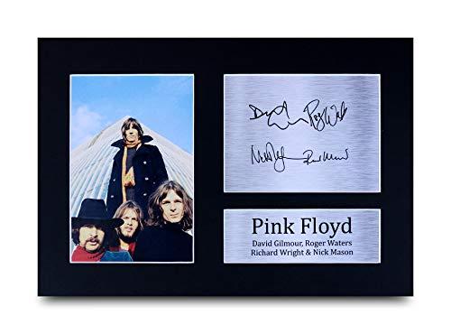 HWC Trading Pink Floyd A4 Ungerahmt Signiert Gedruckt Autogramme Bild Druck-Fotoanzeige Geschenk Für Musik-Fans