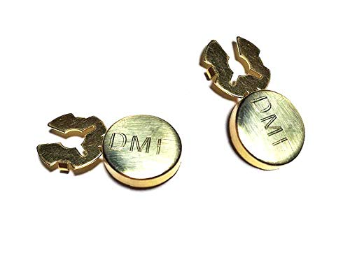 1 par de cubrebotones de 18 mm, personalizados, 3 iniciales, solo estampado, como se muestra en la foto, cubre botones, elige el color dorado, plateado, etc. Fundas para botones para camisa o muñecas unisex + 1 llavero.