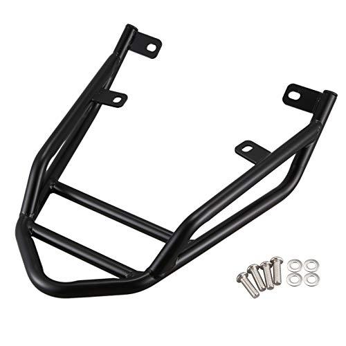 ADFIOADFH Motorcycle Equipaje Rack Trasero Taller/Ajuste para Ducati Scrambler 400 Sixty2 / Fit para Scrambler 800 / Fit para Scrambler 1100 (Color : Black)