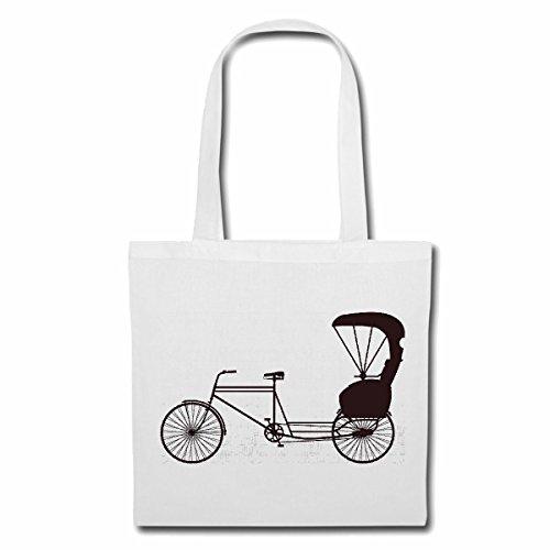 Bolsillo Bolso Bolsa Silueta de la bicicleta montaña de la bicicleta REPARACIÓN DE CICLO SPORT BIKE TOUR EN BTT CAMISA Bolsa de deporte Bolsas de Blanco