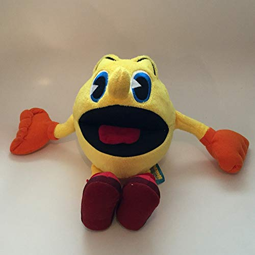 Grupo Moya Felpa Peluche de Pac-Man 30cm Videogame Retro Grande Original BANDAI NAMCO Pac Man